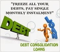 Freeze all debts pay one payment