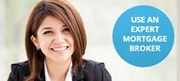 Young woman saying, use an expert mortgage broker