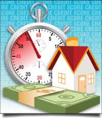 House and timer equals money saved