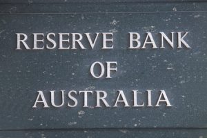 Reserve Bank Of Australia brass plaque