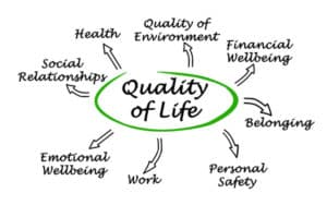 Diagram of Quality of Life